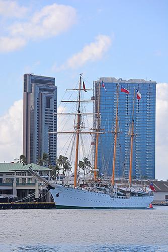 Esmeralda at Pier 9