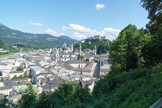 Sakzburg von oben