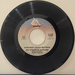 RAY PARKER JR. & RAYDIO:TWO PLACES AT THE SAME TIME(RECORD SIDE-B)