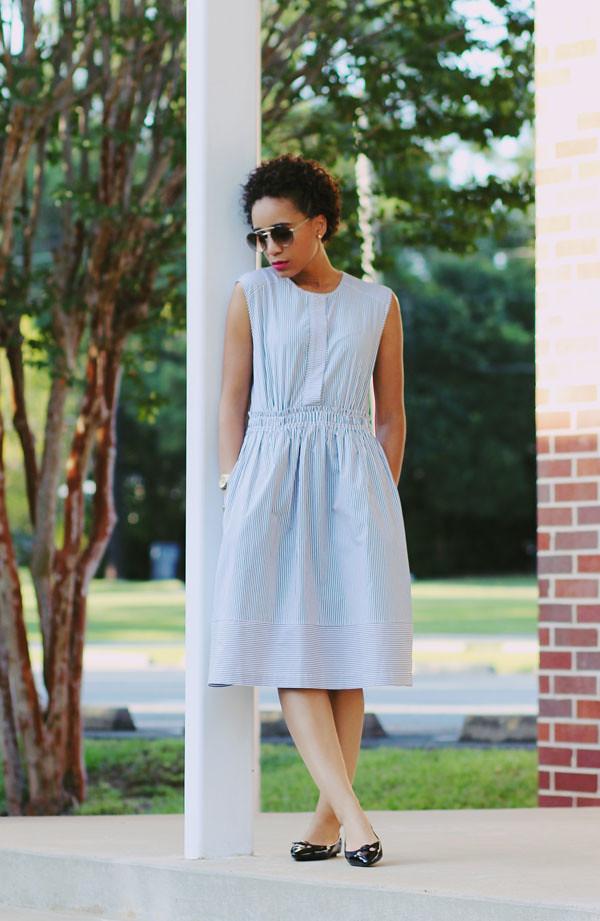 J. Crew Stripe Dress