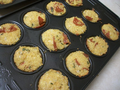 pizza quinoa bites 4 | by miki's kitchen