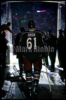 Rick Nash's Final walk onto the ice as a Columbus Blue Jacket | by Vision Images