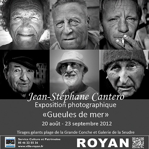 "Exposition ""gueules de mer"" - Royan 
