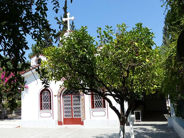 petite église près du lycée d'Aristote