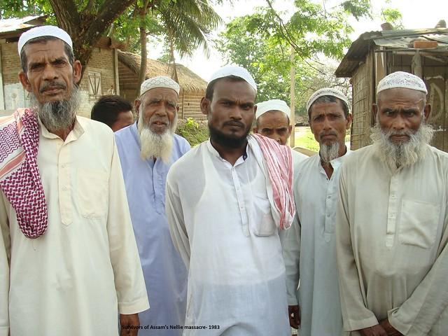 Survivors of Assam's Nellie massacre