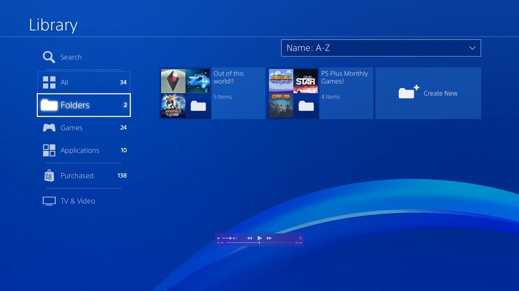 How to organise your games and apps with PS4 folders - PlayStation