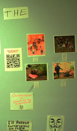 Occupy the Dollhouse Exhibit | by kimsworldofart