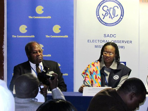 Commonwealth Observer Group for Lesotho elections | by Commonwealth Secretariat