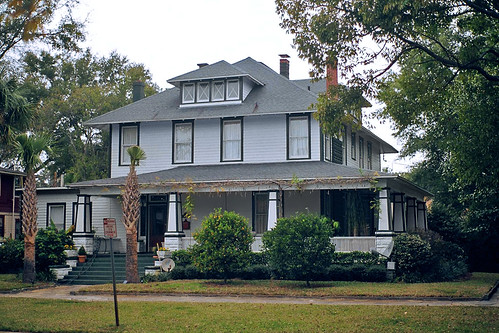 American foursquare house riverside jacksonville flickr for Martin home exteriors jacksonville fl