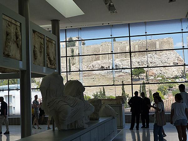 vue du musée sur l'acropole 1