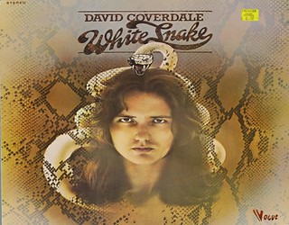 "DAVID COVERDALE WHITE SNAKE 12"" LP VINYL"