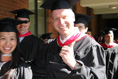 EMBA Graduate Gives the Thumbs Up | by fisherosu