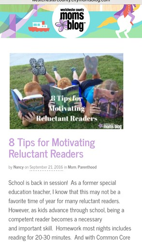 8 Tips for Reluctant Readers
