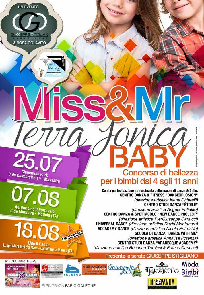Baby Miss & Mister Terra Jonica 2016