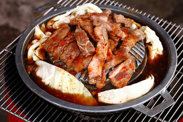 Akashi BBQ Gengiskhan grill