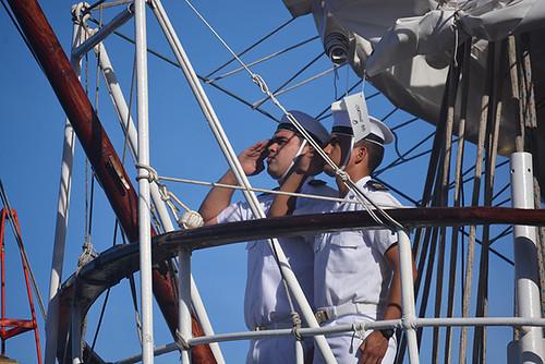 saluting ensign