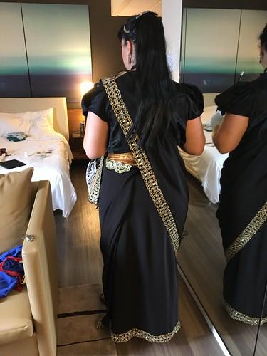 Bollywood Zatanna - The back