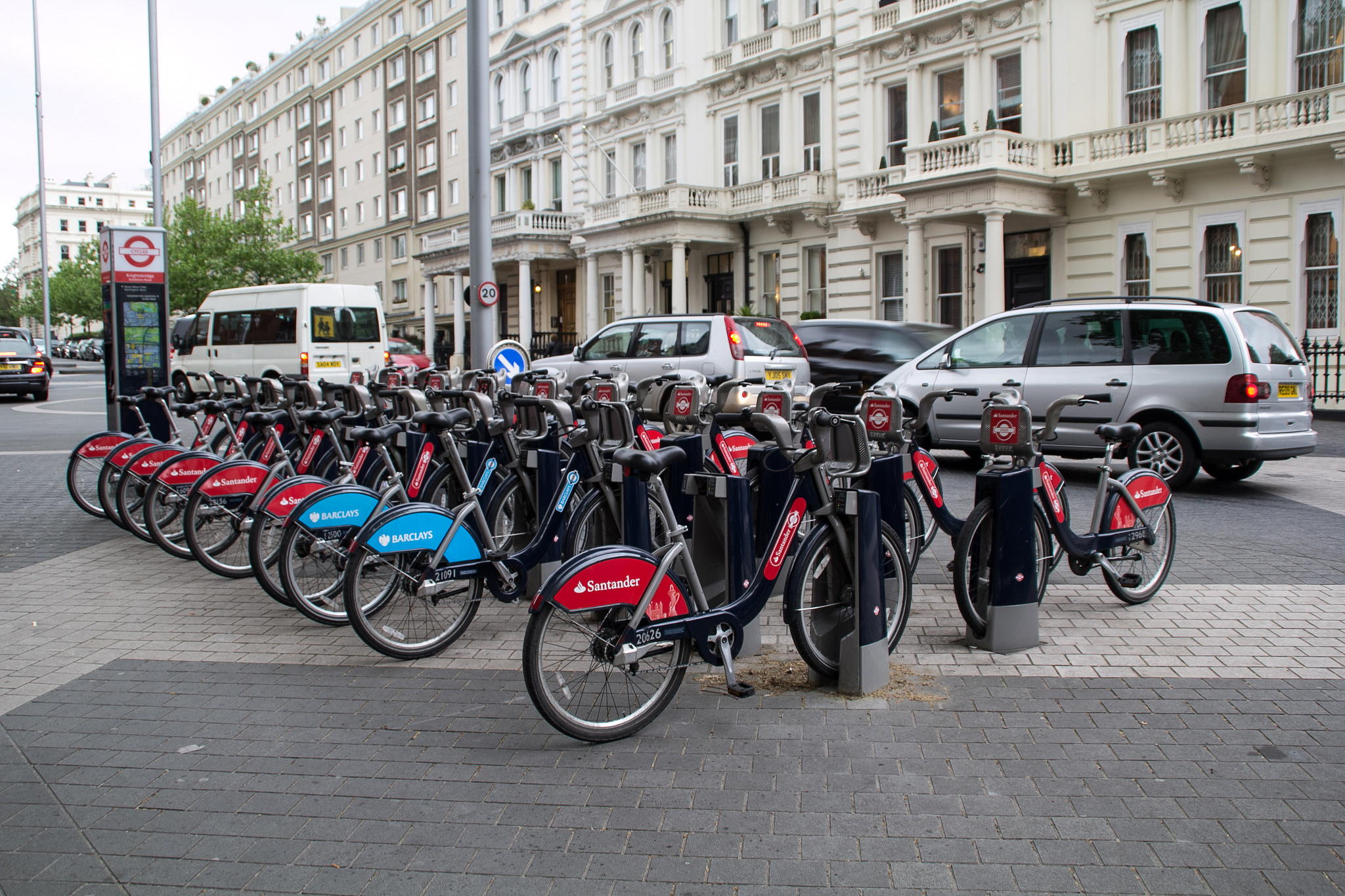 Rent bicycles in London