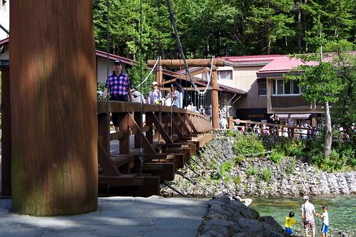 Kappa-bashi bridge河童橋 Kamikochi 2016 summer 66