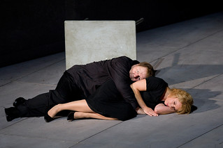 Nina Stemme as Isolde and Ben Heppner as Tristan in Christof  Loy's Tristan und Isolde. ©ROH/Bill Cooper 2009-2010 | by Royal Opera House Covent Garden