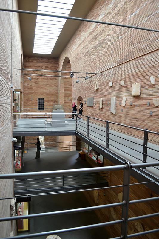 La original disposición de las plantas del Museo.