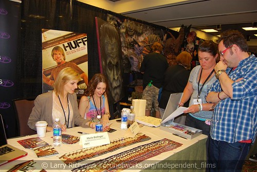 "Autograph signing, ""Huff"" World Premiere 