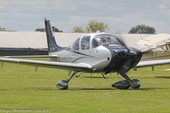 N986JT - 2014 build Cirrus SR22T Platinum, taxiing for a demonstration flight at Sywell during Aero Expo 2015