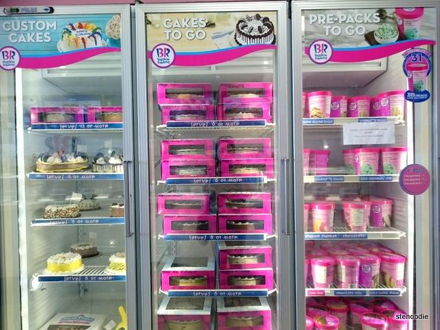 Baskin Robbins freezers