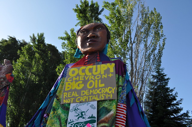 Chevron Faces Shareholder, Union and Community Revolt at Annual Meeting