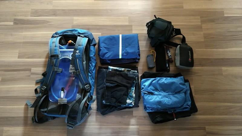Ausrüstung für die Hunsrückwanderung