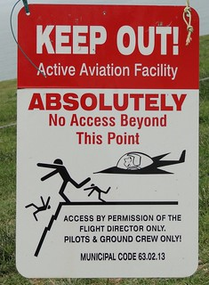 Danger Glider sign | by WikiThreads