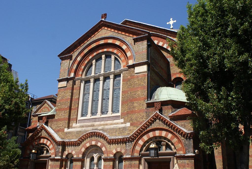 Hagia Sophia, église orthodoxe à Londres.