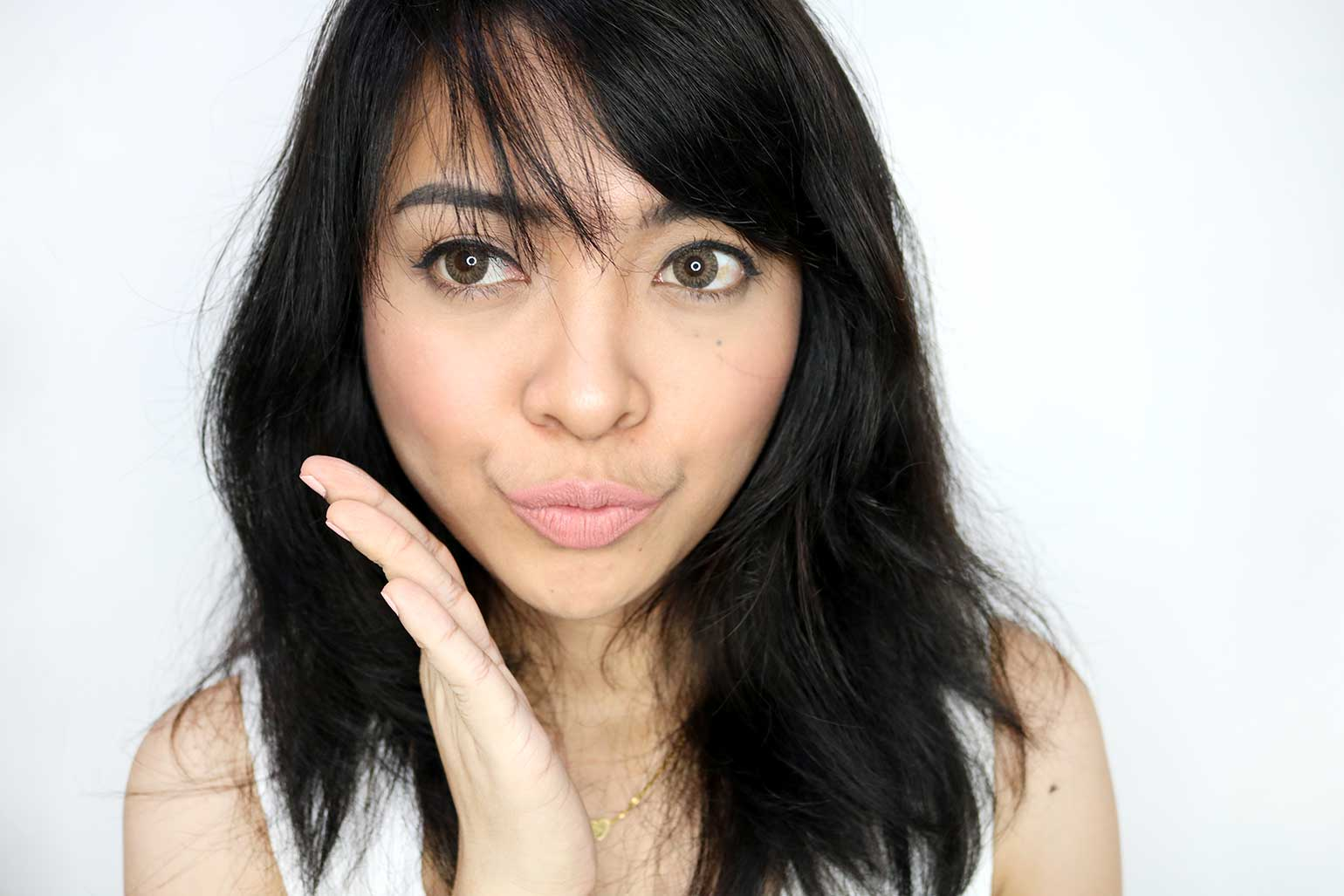 6 Maybelline Creamy Matte Brown Nudes Collection Daringly Nude Review Swatches - Gen-zel.com (c)