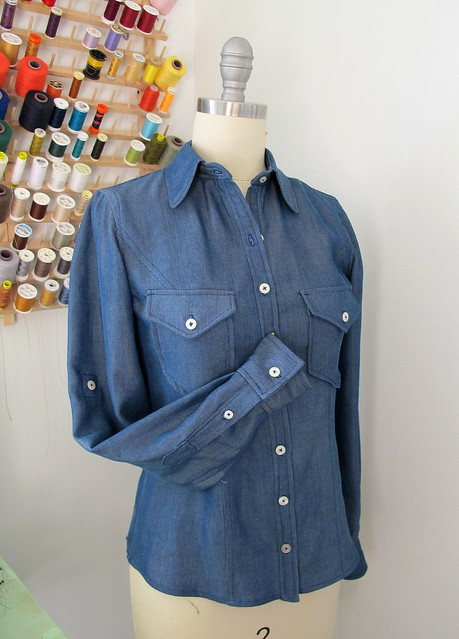 B5526 Chambray Tencel