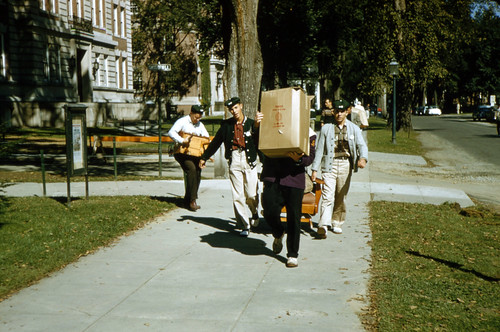 Move-in day at Dartmouth for the Class of 1956 | by Dartmouth Flickr