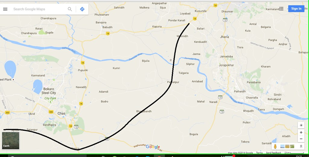 Bokaro Project Threads Page SkyscraperCity - Dhanbad map