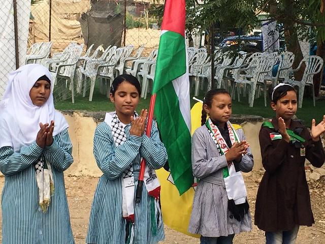 PALESTINA. Primo giorno di scuola a Khan al Akhmar