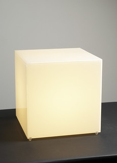 8240 LARGE BOX TABLE LAMP | by Diva Rocker Glam (844)-448-0888