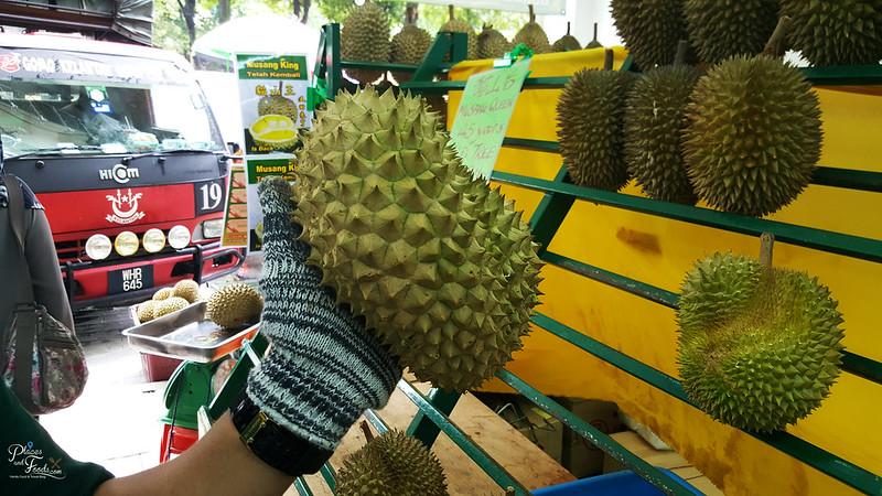 musang queen durian shape