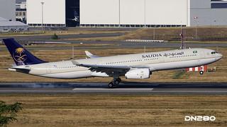 Saudia A330-343 msn 1734