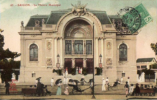 Indochina 1910 - Saigon - Theatre | by manhhai