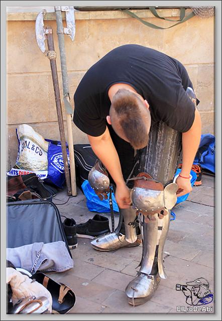 Poza de la Sal, Feria de Artesanía y Alimentación y Combates medievales (8)
