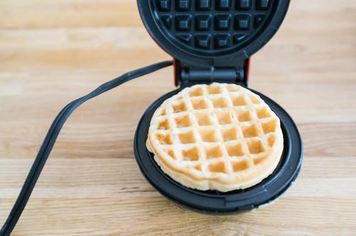 Mini waffle.