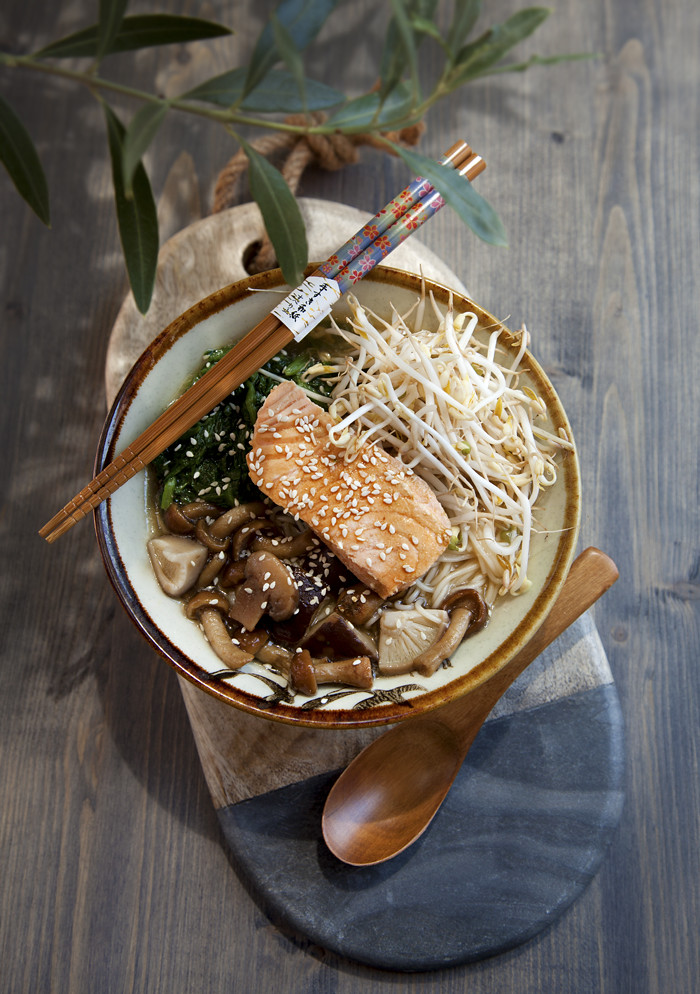 Noodles al Salmone