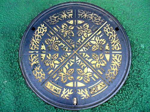 Ichijima Hyogo, manhole cover (兵庫県市島町のマンホール)