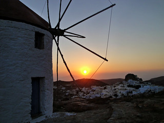 sunset in Amorgos | by GEOLEO