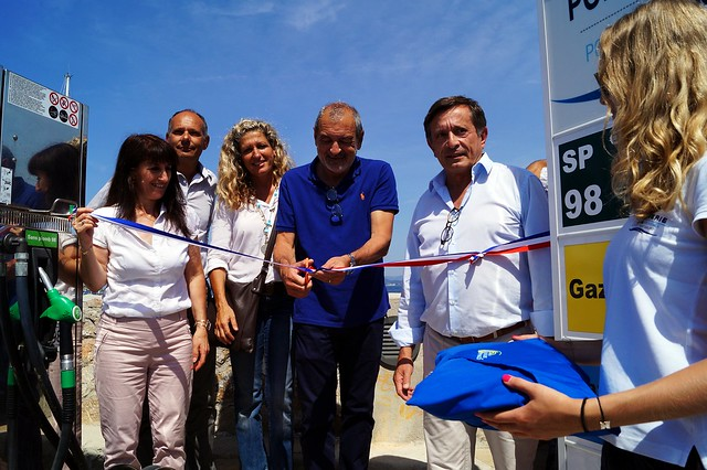 Inauguration au Brusc