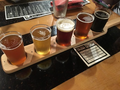 One Well Brewing Beer Flight