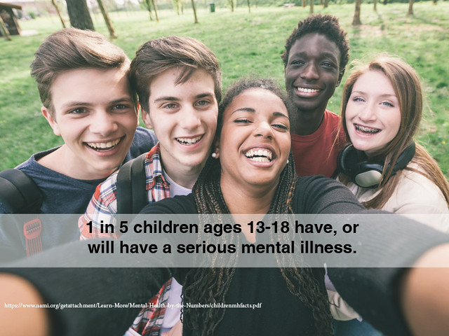 1 in 5 children ages 13-18 have, or will have a serious mental illness thumbnail