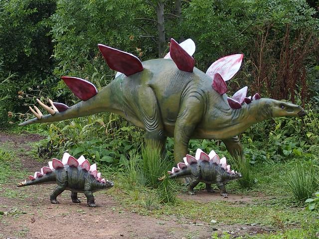 Stegosaurus family